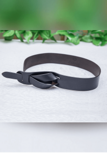 Black Bow Waist Belt