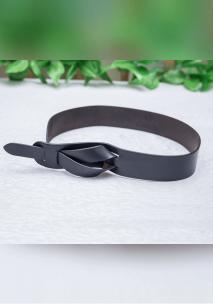 Black Bow Waist Belt