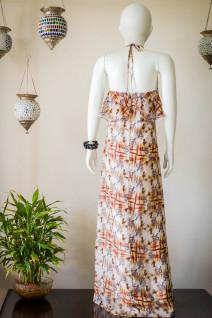 Layered Floor Length Dress