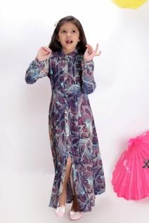 Shirt Style Maxi Dress