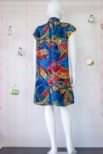 Chinese  Mandarin Collar Dress