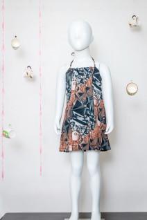 Cotton Halter Dress