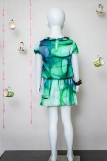 Printed Peter Pan Collar Dress