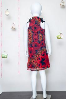 Ruffle Neck Dress