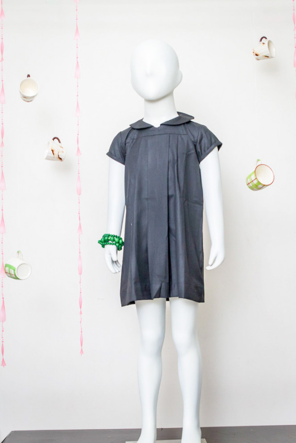 Black Peter Pan Collar Dress