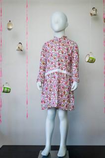 Pink Cotton Frock Dress
