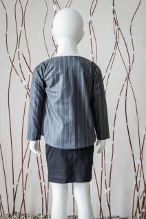Overlap Tulip-Style Jacket